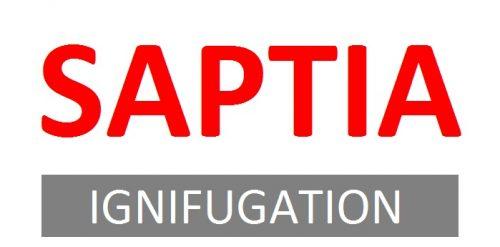 Saptia ignifugation textiles
